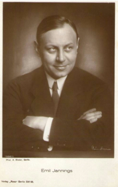 Picture Emil Jannings