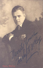 Picture Harry McCoy